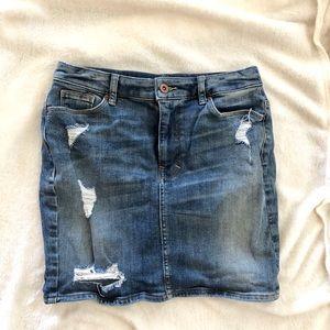 H&M Women's Denim Skirt Size 6